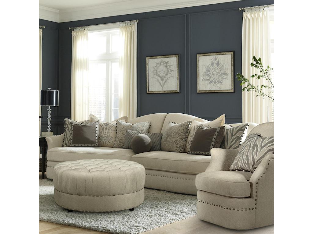 Markor Furniture Amanda Ivory2 Piece Sectional