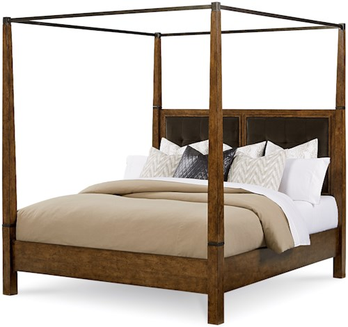 A.R.T. Furniture Inc Echo Park Queen Poster Bed with Canopy