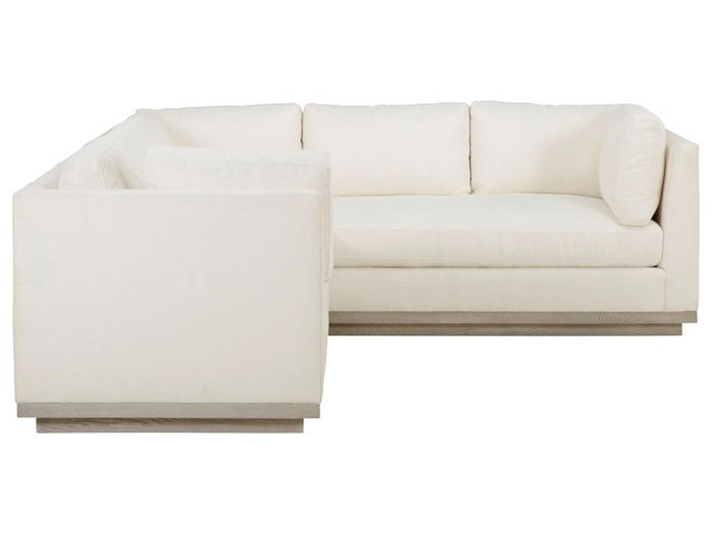 The Great Outdoors Epicenters 33127Cruz 3 Pc Sectional Sofa
