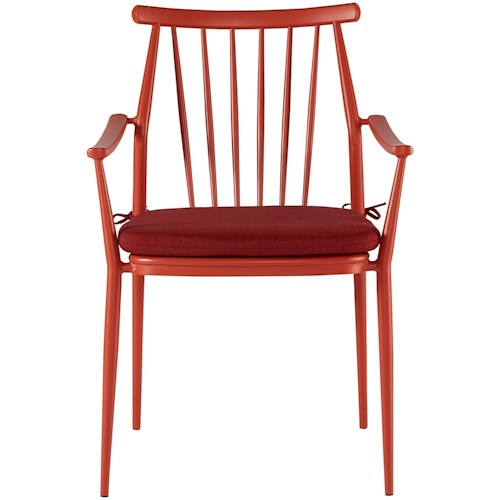 A.R.T. Furniture Inc Epicenters Austin Outdoor Darrow Arm Chair | Boulevard  Home Furnishings | Outdoor Dining Arm Chairs - A.R.T. Furniture Inc Epicenters Austin Outdoor Darrow Arm Chair