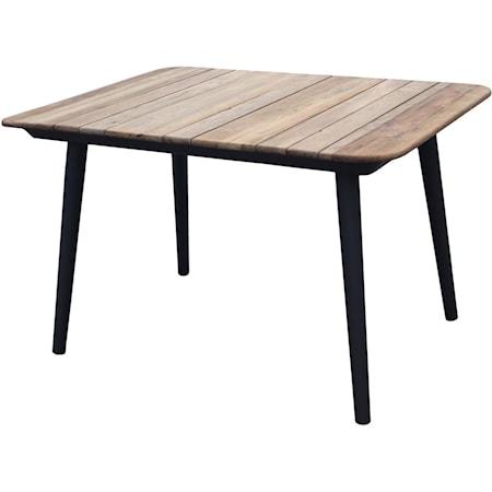 Darrow Teak Square Dining Table