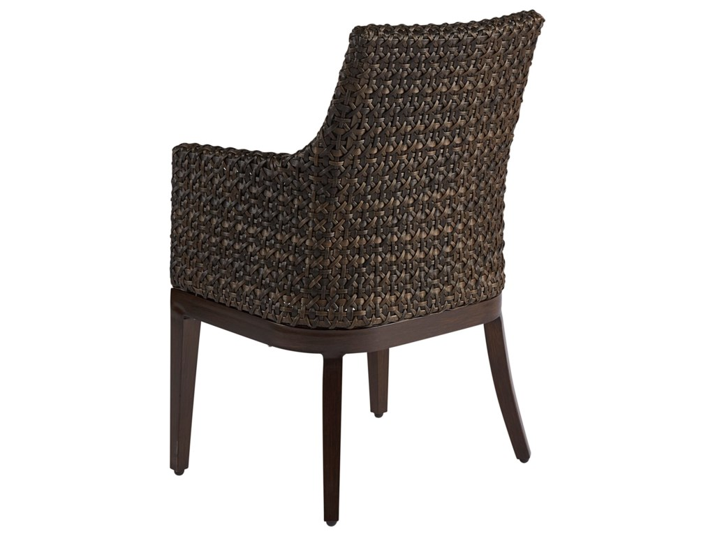 The Great Outdoors Malibu OutdoorWicker Dining Chair