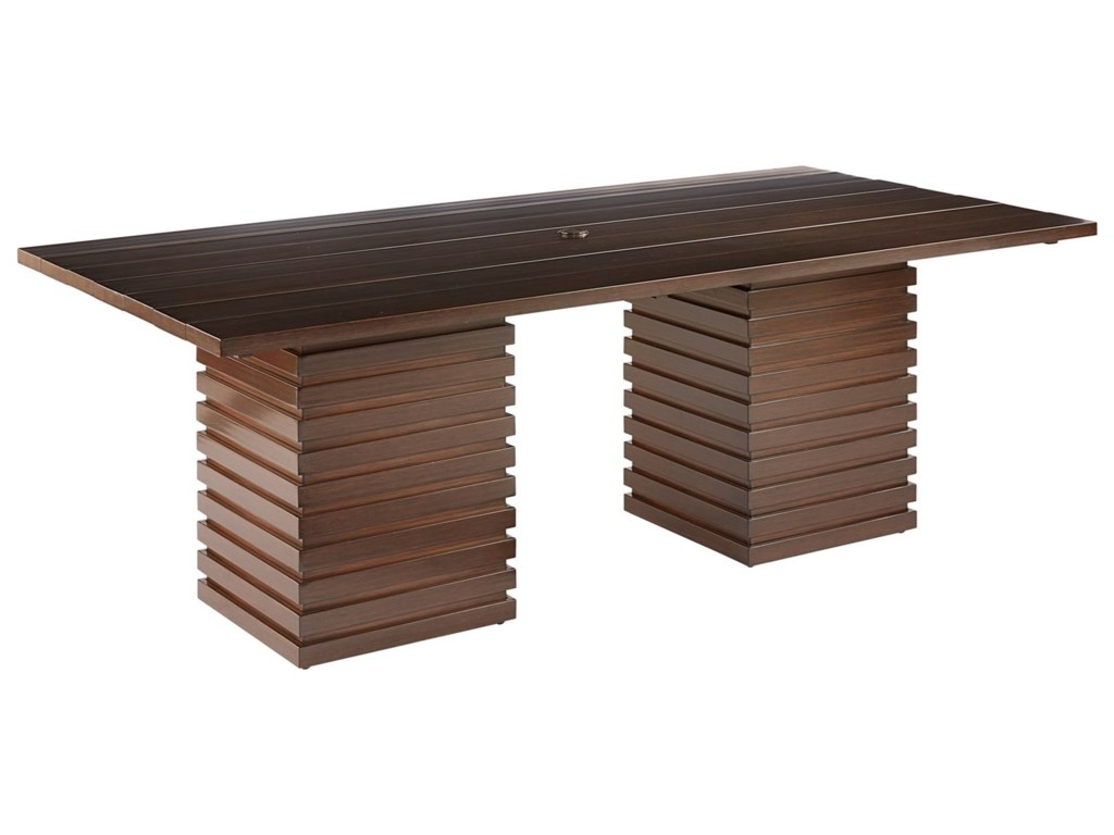 A.R.T. Furniture Inc Epicenters OutdoorCypress Rectangular Dining Table
