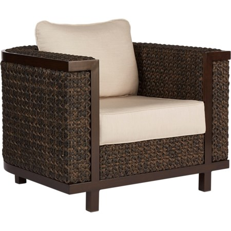 Brentwood Wicker Club Chair