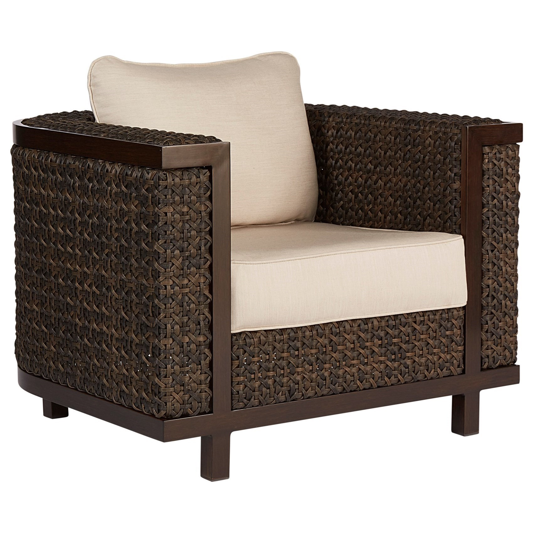 A.R.T. Furniture Inc Epicenters OutdoorBrentwood Wicker Club Chair ...