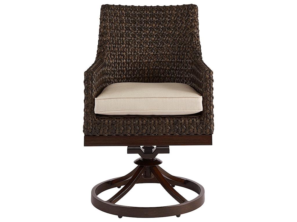 A.R.T. Furniture Inc Epicenters OutdoorFranklin Wicker Swivel Rocker