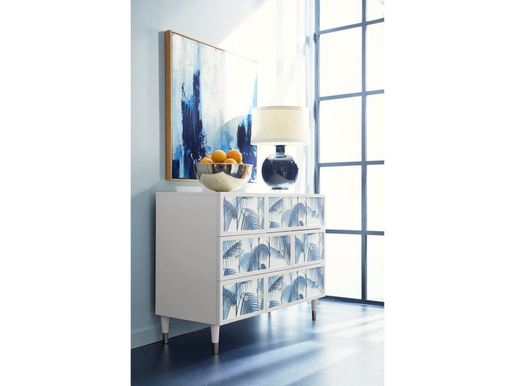 Compositions Epicenters 33127 Aqua Single Dresser