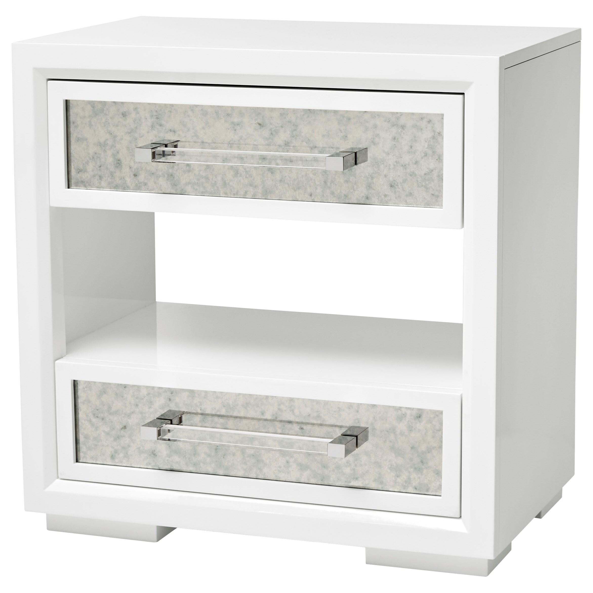 A R T Furniture Inc Epicenters 33127 Gloss White Brickell