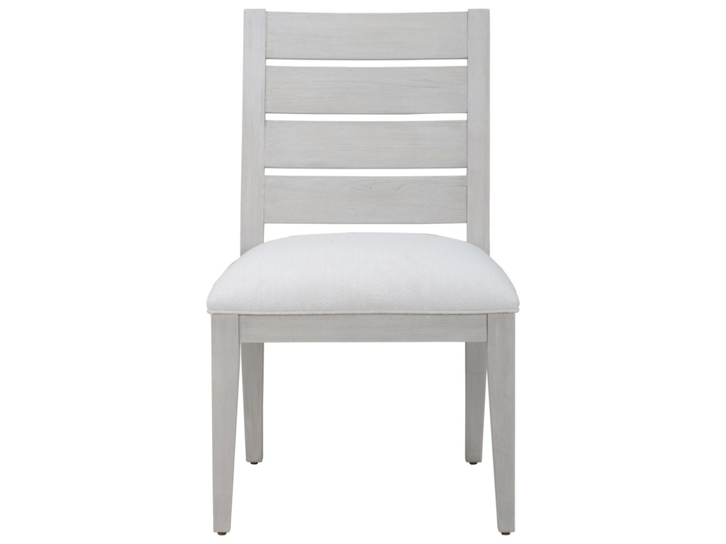 The Great Outdoors Epicenters 33127 Luke Slat Back Side Chair