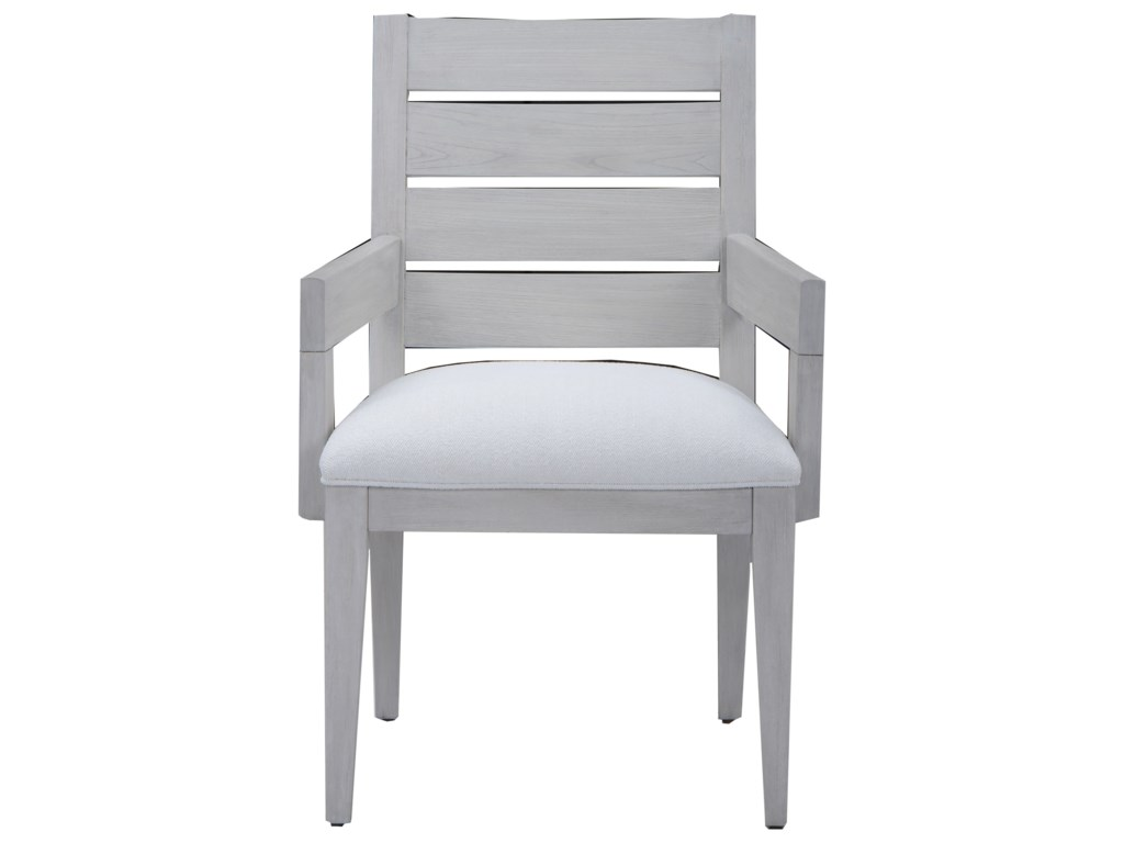 The Great Outdoors Epicenters 33127 Luke Slat Back Arm Chair