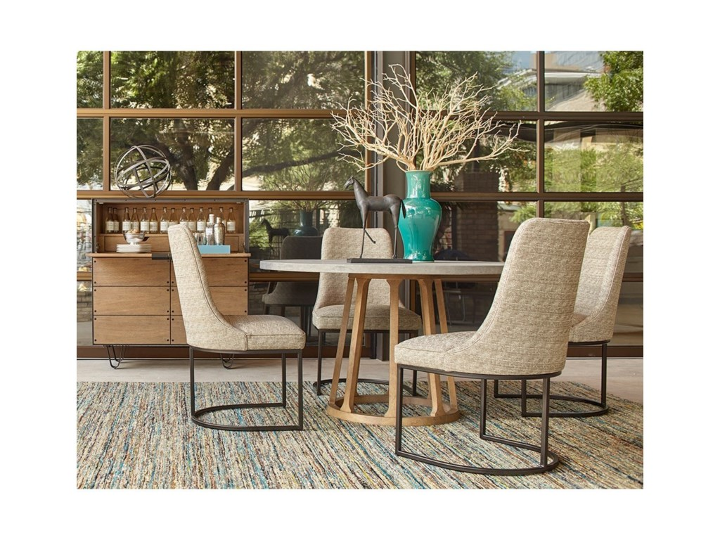 Belfort Signature Rainey StreetCasual Dining Room Group