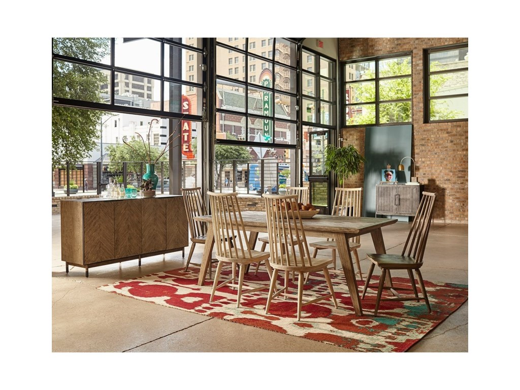 The Great Outdoors Epicenters AustinFormal Dining Room Group