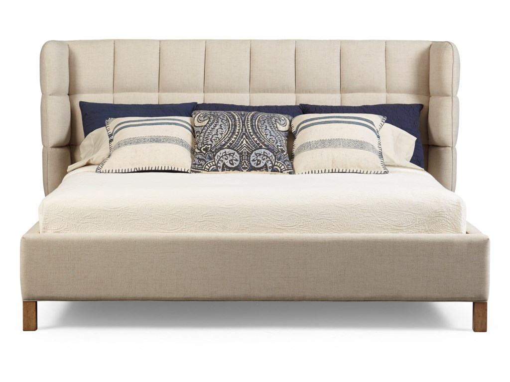 A R T Furniture Inc Epicenters Austinqueen North Loop Upholstered Shelter Bed
