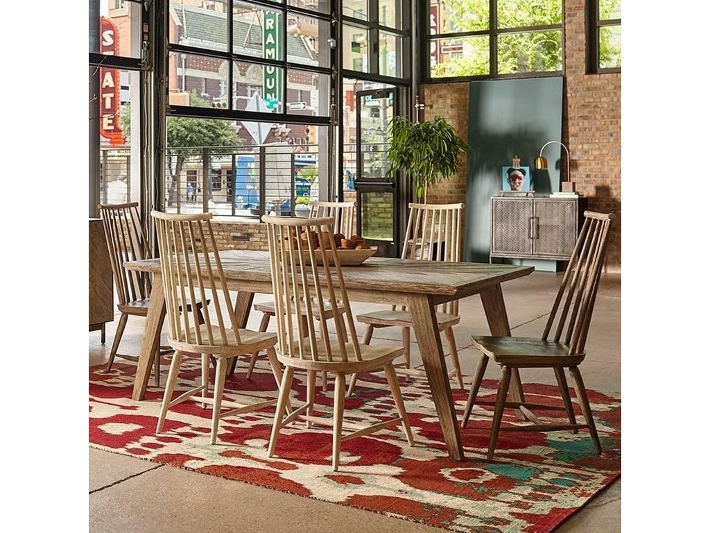 The Great Outdoors Epicenters Austin7-Piece Rosedale Dining Table Set