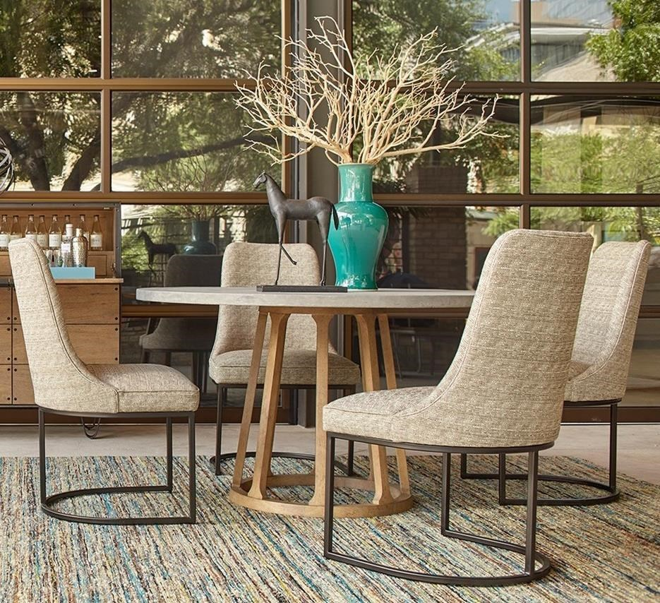 A.R.T. Furniture Inc Epicenters Austin5 Piece Fountainwood Dining Table Set  ...
