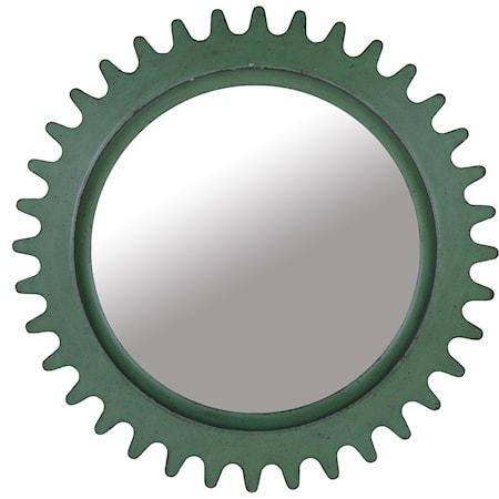 Williamsburg Round Factory Mirror