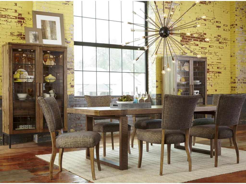 The Great Outdoors Epicenters7-Piece Williamsburg Rectangular Table Set