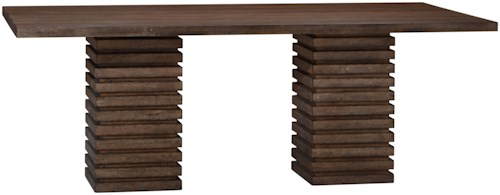 A.R.T. Furniture Inc Epicenters Williamsburg Double Pedestal Dining Table