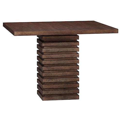 Belfort Signature Urban Treasures Shaw Single Pedestal Dining Table