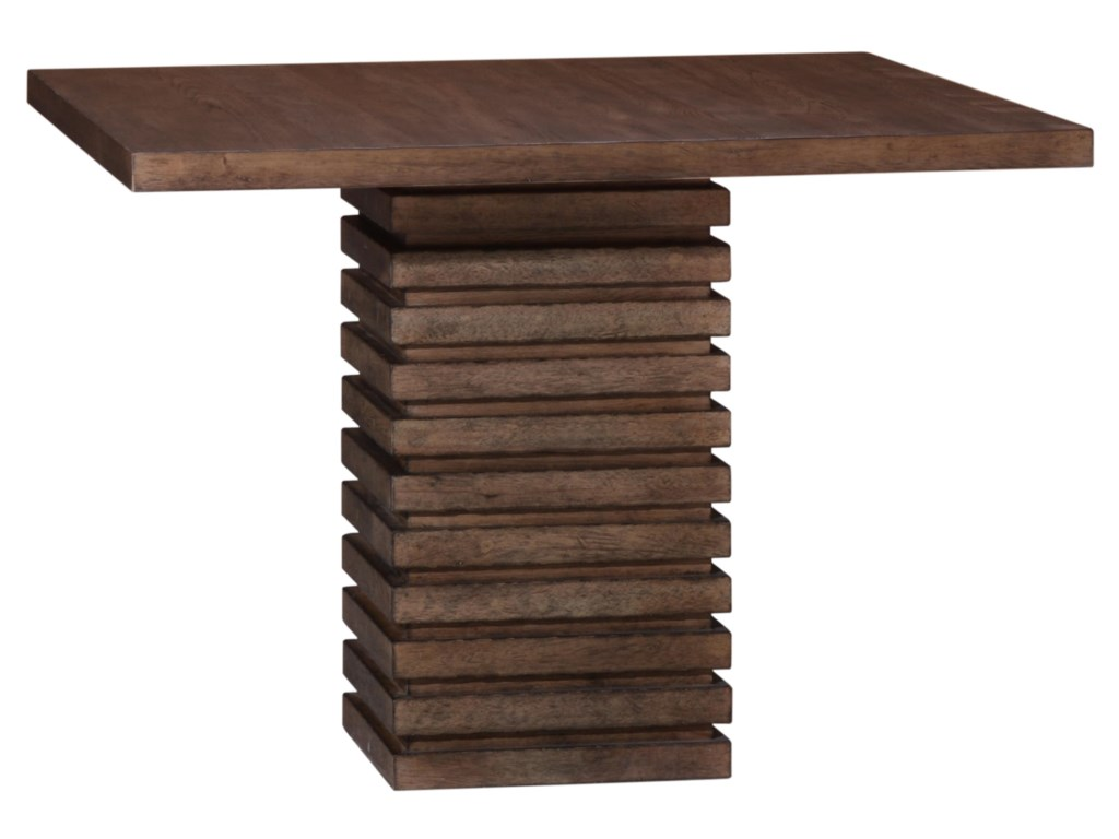 The Great Outdoors EpicentersWilliamsburg Single Pedestal Dining Table