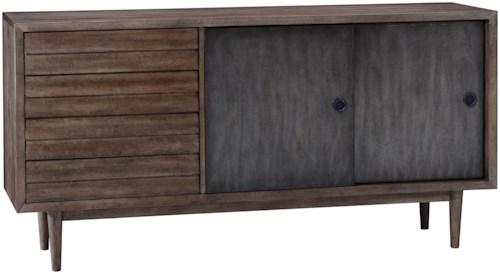A.R.T. Furniture Inc Epicenters Williamsburg Sideboard with Sliding Doors