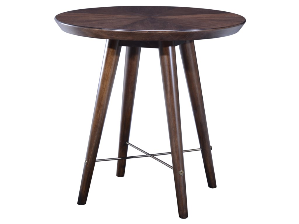 Compositions EpicentersSilver Lake Round End Table