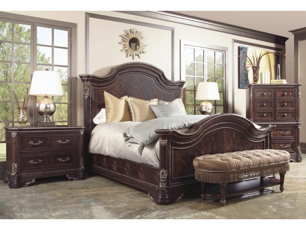 A.R.T. Furniture Inc GablesQueen Panel Bed