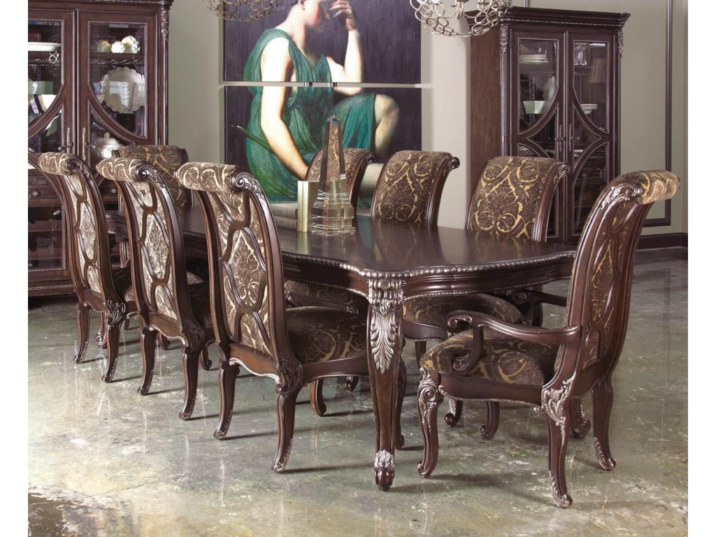 The Great Outdoors Gables9-Piece Leg Dining Table Set