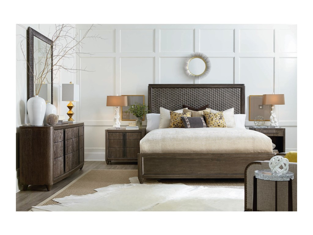 A.R.T. Furniture Inc GeodeQueen Bedroom Group