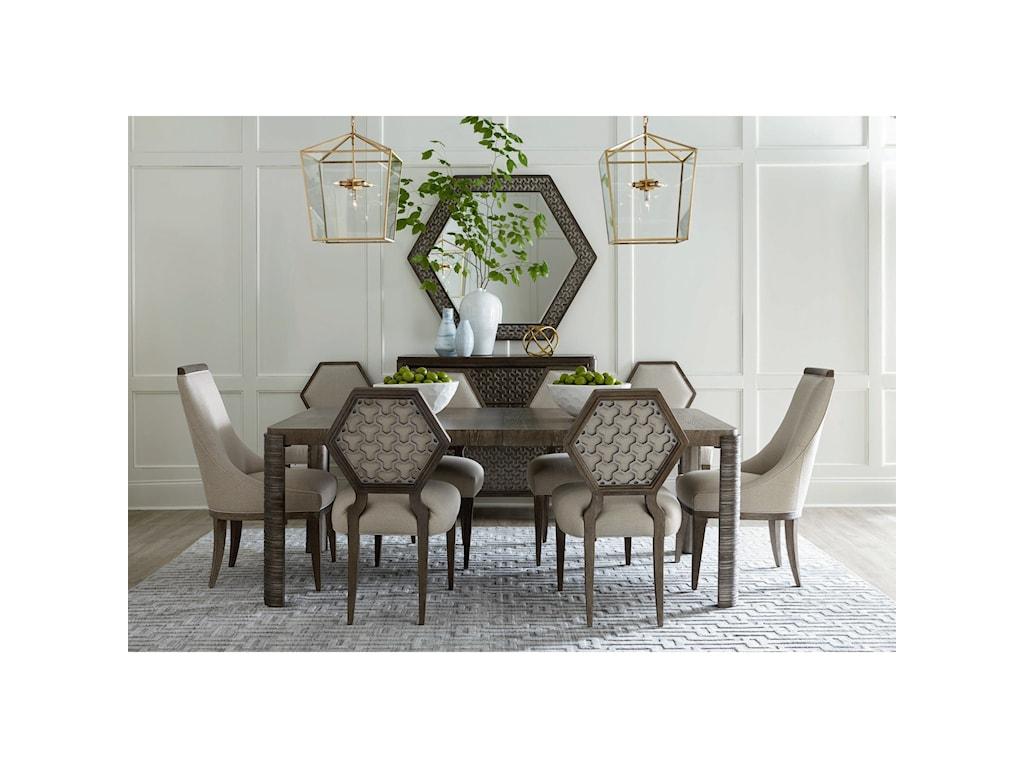 A.R.T. Furniture Inc GeodeCitrine Mirror