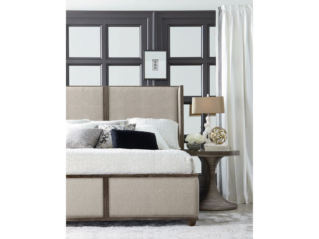 A.R.T. Furniture Inc GeodeKing Amethyst Upholstered Bed