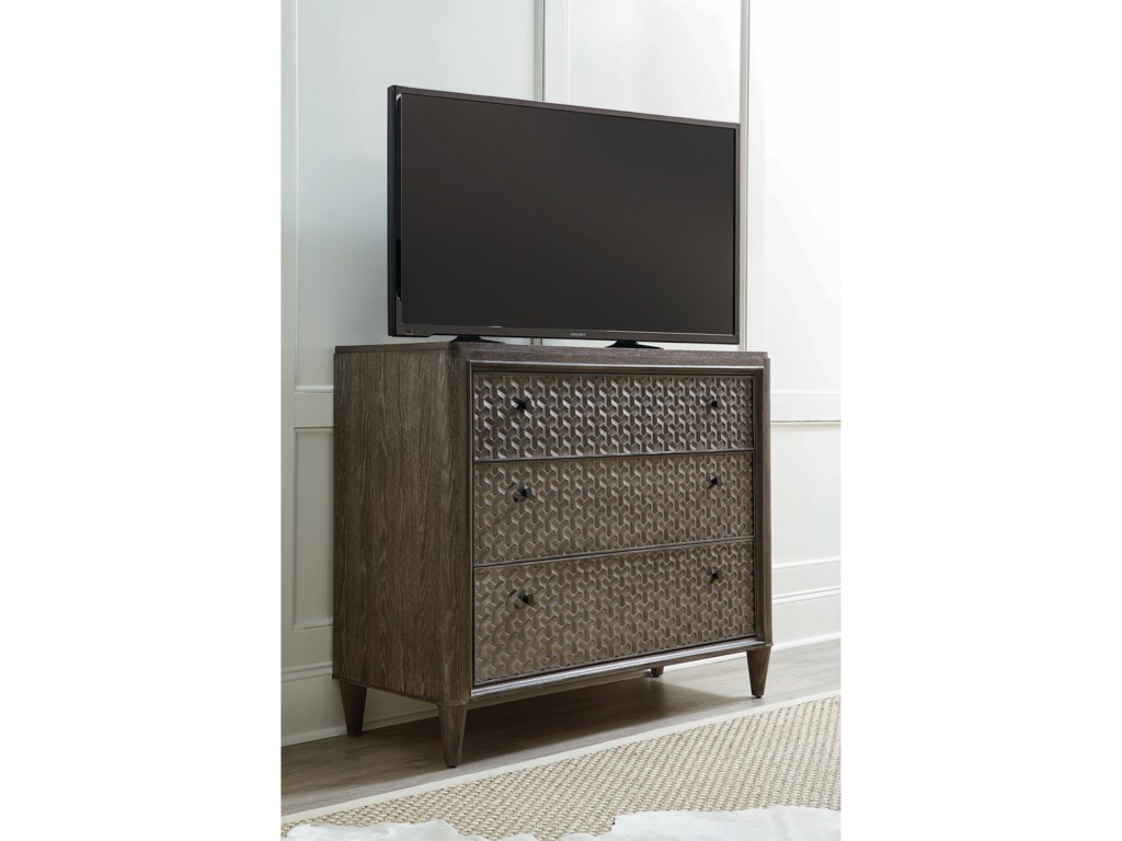 A.R.T. Furniture Inc GeodeAgate Bedside Chest/Media Chest