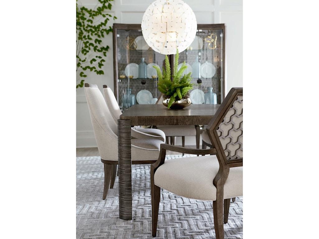A.R.T. Furniture Inc GeodeDruzy Arm Dining Chair