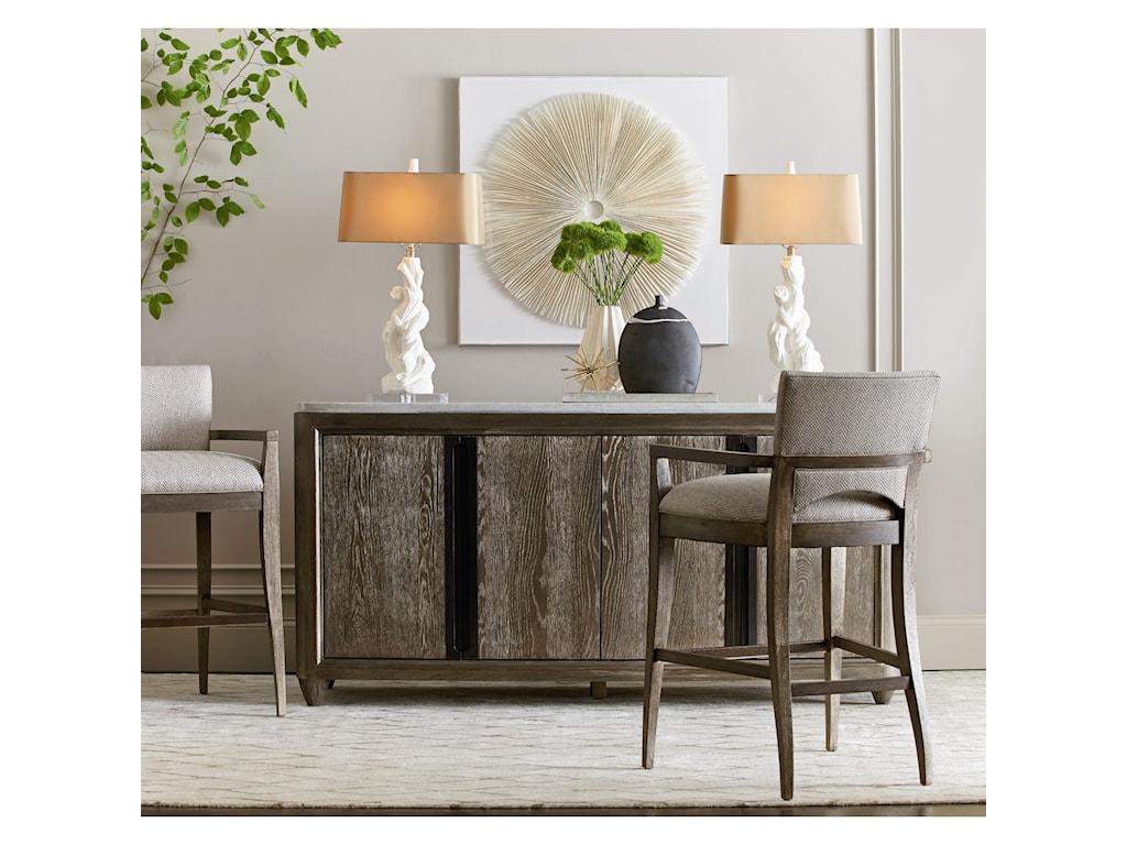 A.R.T. Furniture Inc GeodeQuartz Bar Stool