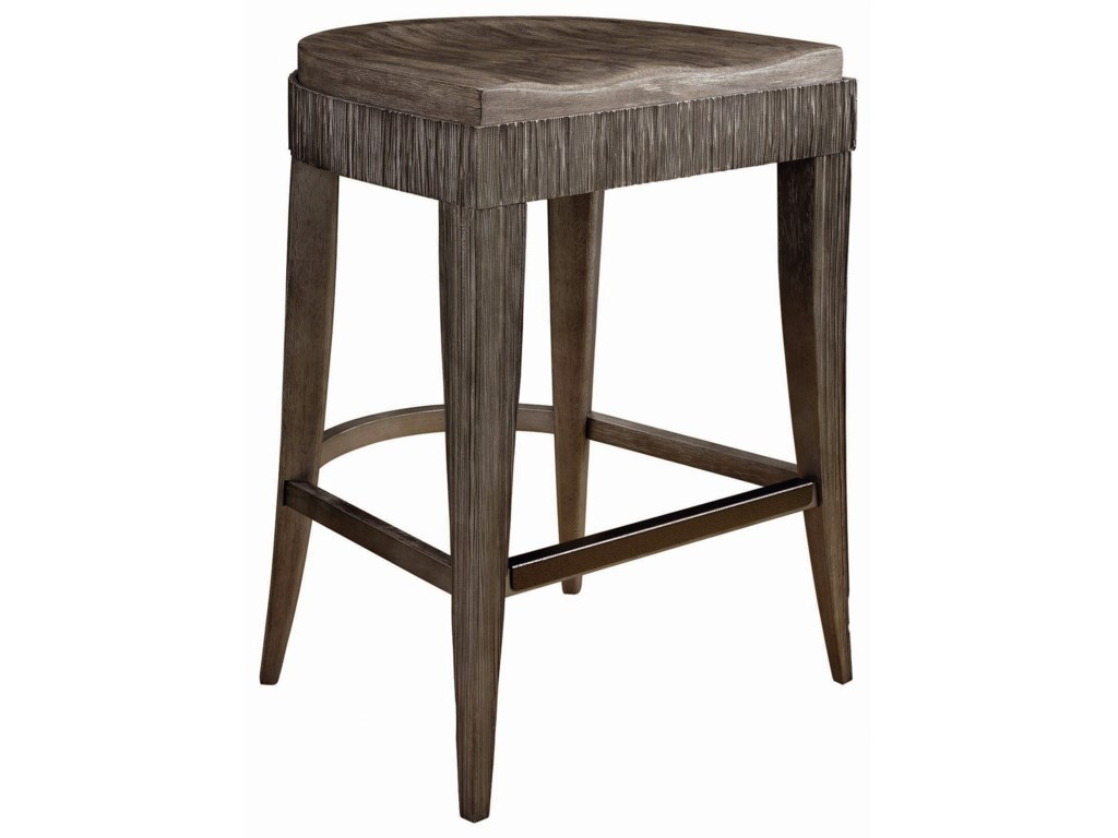 Compositions GeodeOcco Counter Stool