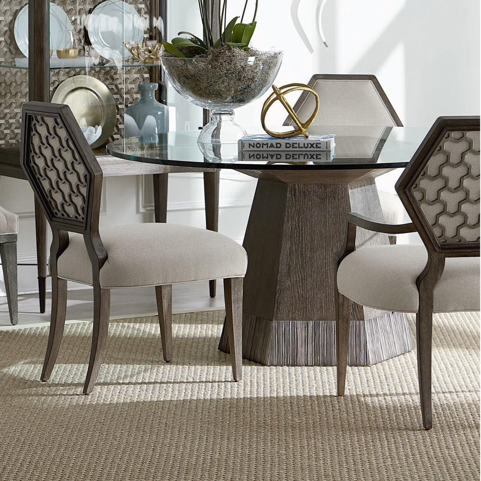 ART Furniture Inc Geode5 Piece Bluff Dining Table