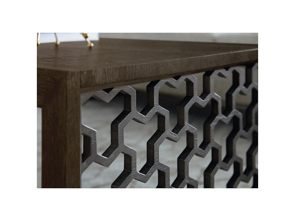 A.R.T. Furniture Inc GeodeTanzanite End Table