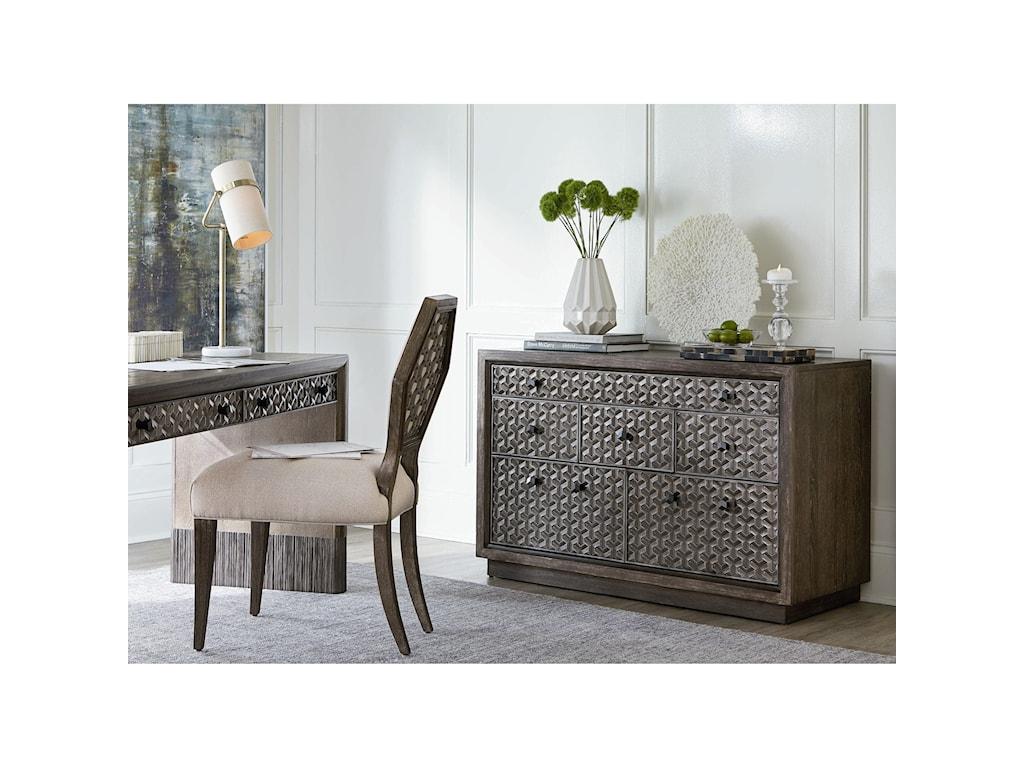 A.R.T. Furniture Inc GeodeSelenite Writing Desk