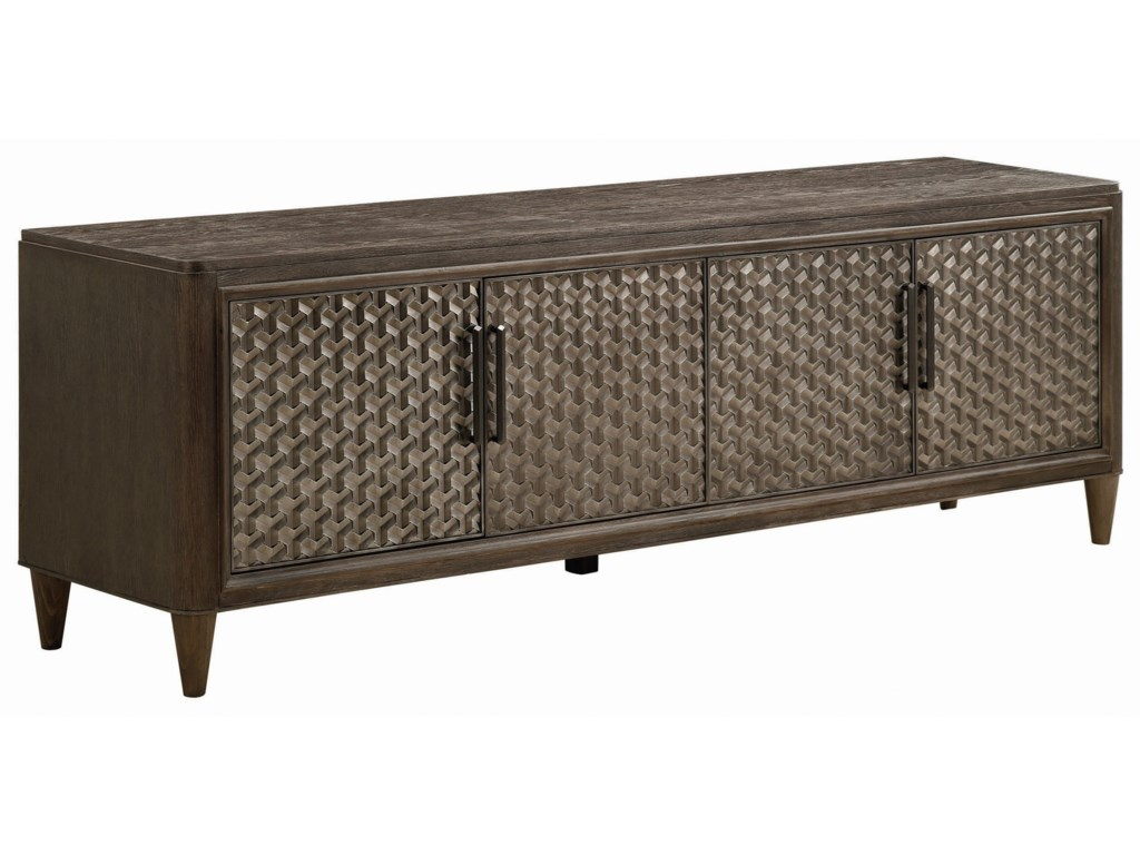 Klien Furniture GeodeSelenite Entertainment Console