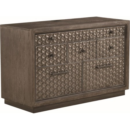Tourmaline File/Entertainment Credenza