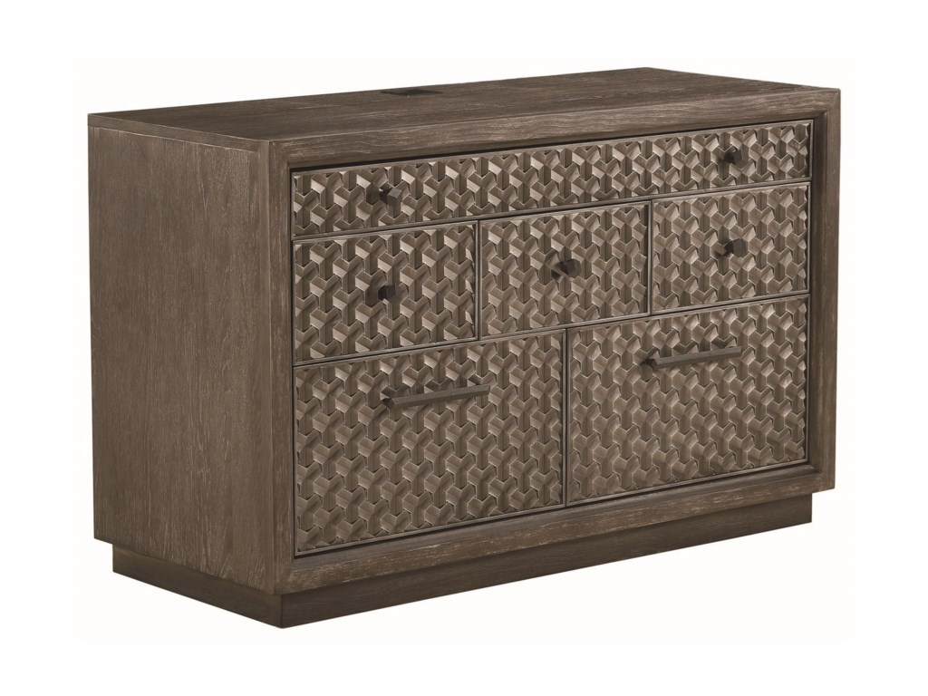 A.R.T. Furniture Inc GeodeTourmaline File/Entertainment Credenza