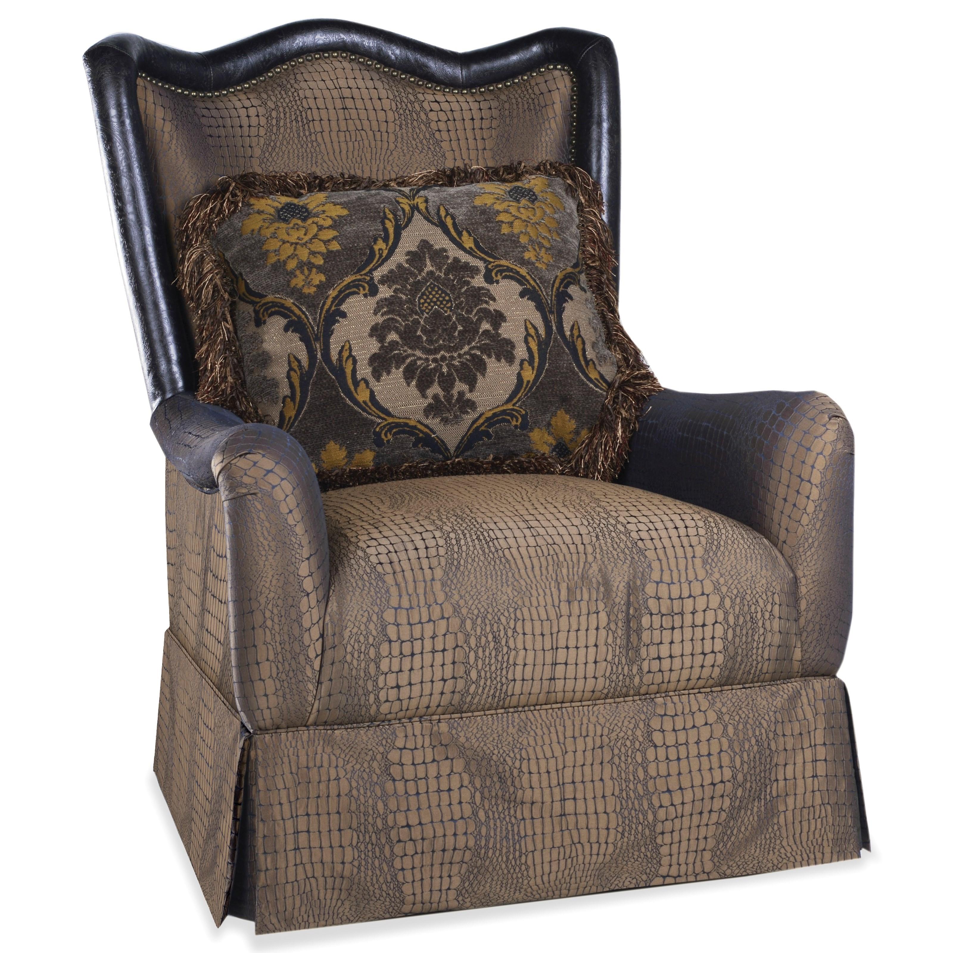 A.R.T. Furniture Inc GiovannaSkirted Accent Chair ...