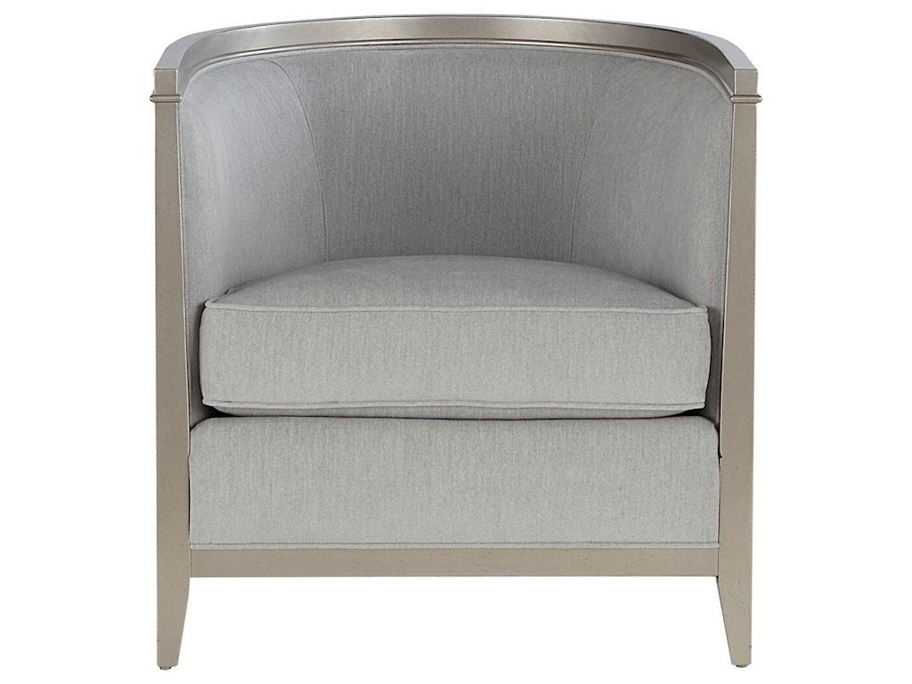 A R T Furniture Inc Morganbarrel Back Chair With Fretwork