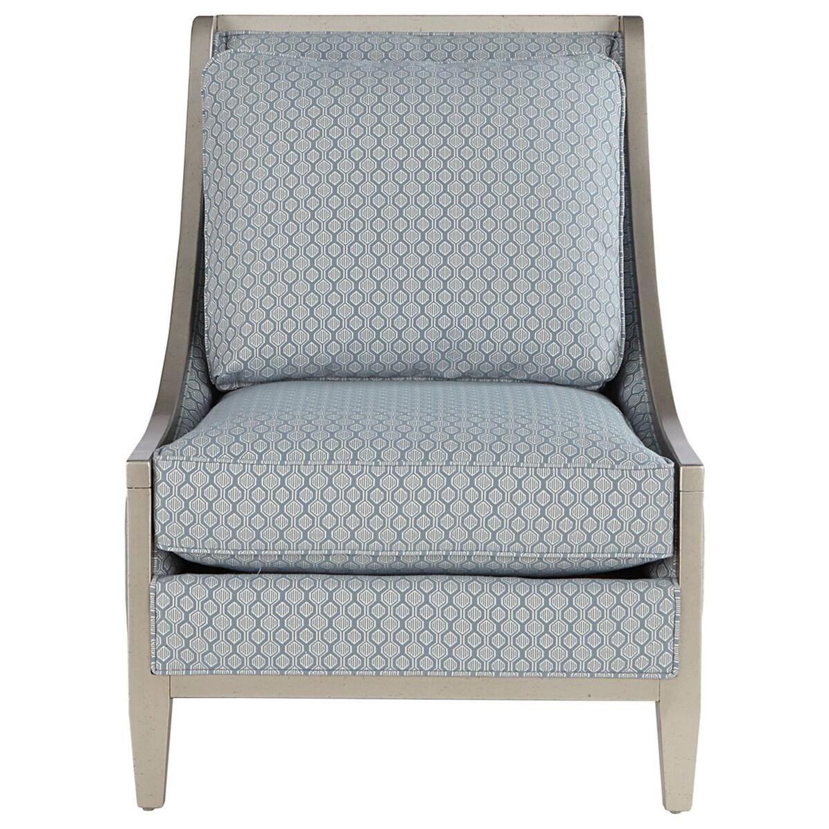 Bon A.R.T. Furniture Inc MorganWood Frame Accent Chair ...