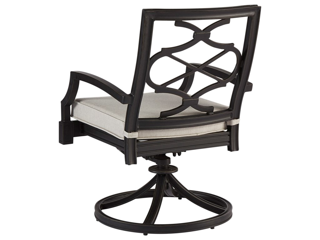 A.R.T. Furniture Inc Morrissey OutdoorPhillips Swivel Dining Rocker