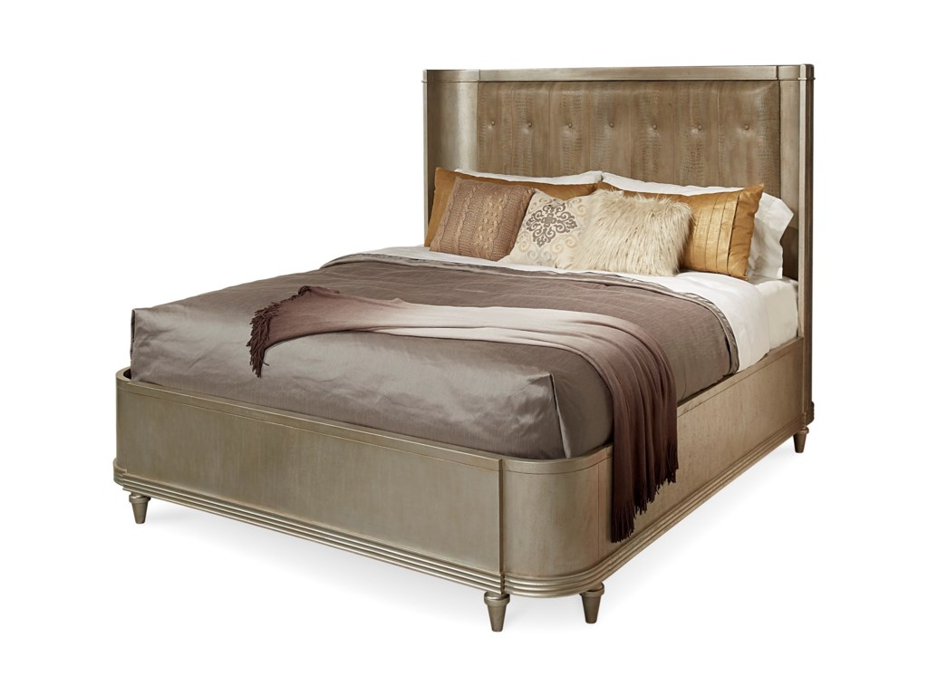 The Great Outdoors MorrisseyCal King Lloyd Upholstered Shelter Bed