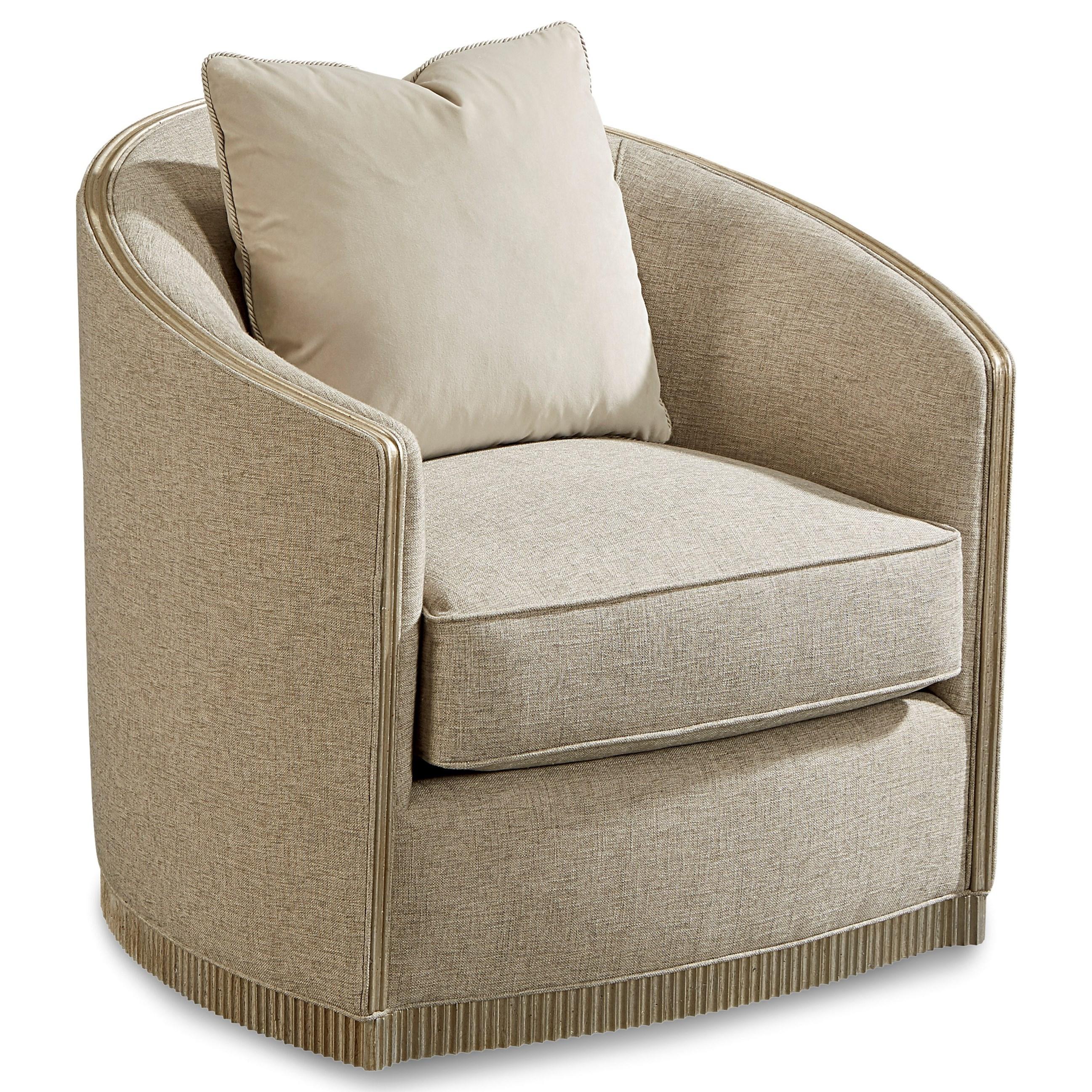 Morrissey Upholstery Luhrman Swivel Chair