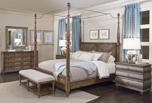 A.R.T. Furniture Inc Pavilion California King Bedroom Group