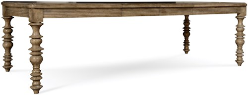 A.R.T. Furniture Inc Pavilion Leg Dining Table with Turned Legs