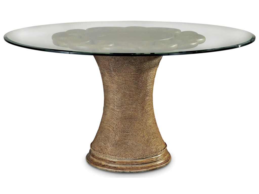 ART Furniture Inc Pavilion Inch Round Dining - 54 inch round table with leaf